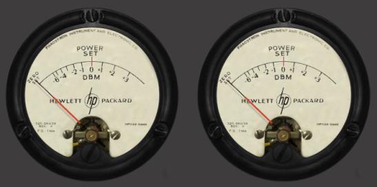 Hewlett Packard meter