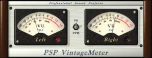 PSP Vintage VU Meter
