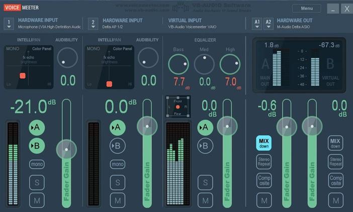 VoicemeeterAudioMixer