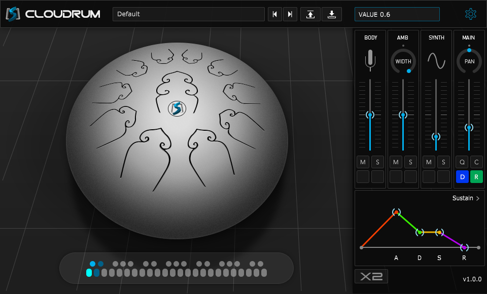 cloudrum interface